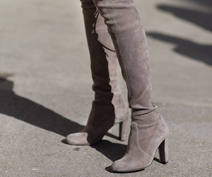 autumn, fashion, and heels image