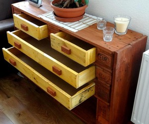 pallet chest, pallet chest designs, and diy pallet chest image