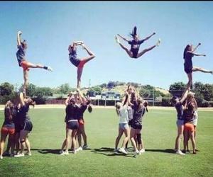 love, cheer, and cheerleading image
