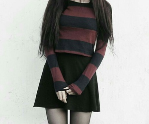 grunge, outfit, and ropa image
