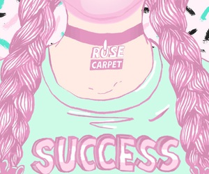 wallpaper, pink, and success image