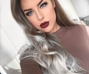 eye makeup, eyeliner, and outfits image