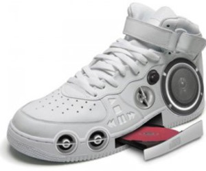shoes, music, and cd image