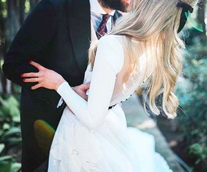 beard, dress, and happy image