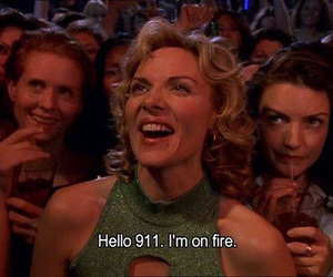 sex and the city and fire image