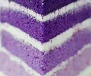 purple, cake, and food image