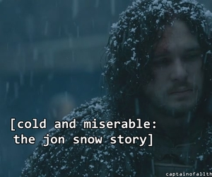 game of thrones, jon snow, and chryswatchesgot image