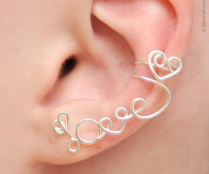 earrings and heart image