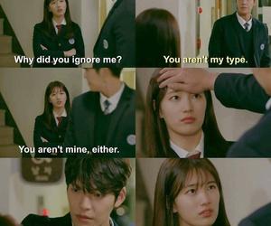 Korean Drama, quotes, and fond image