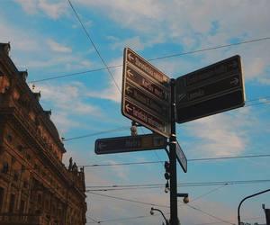 direction, wanderlust, and prague image