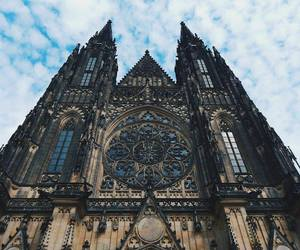beautiful, cathedral, and prague image