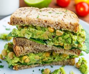 avocado and sandwich image