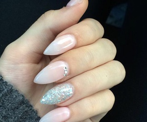 nails, nailart, and gelnails image