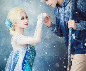 cosplay, frozen, and elsa image