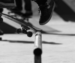 skate, skateboard, and photography image