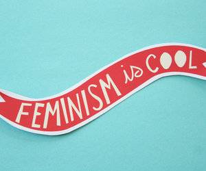 feminism and cool image