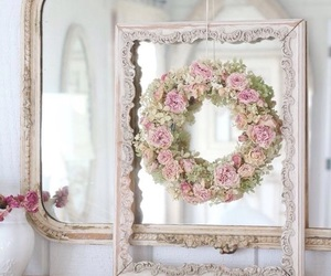 decor, home, and mirror image