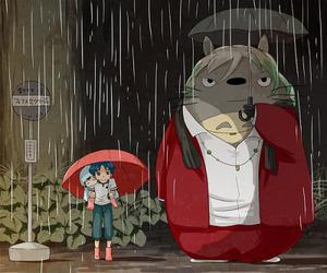 anime, manga, and totoro image