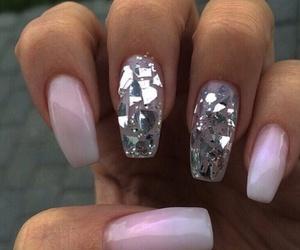 fake nails, nail art, and nail design image