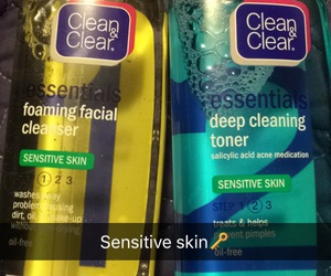 skin, diys, and clean&clear image