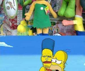 simpsons, funny, and lol image