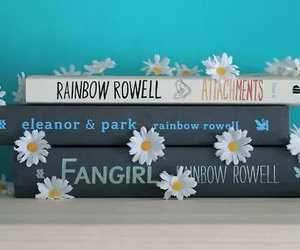 book, fangirl, and eleanor and park image