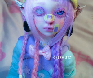 beautiful, creepy, and doll image