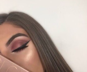 classy, eyeliner, and makeup image