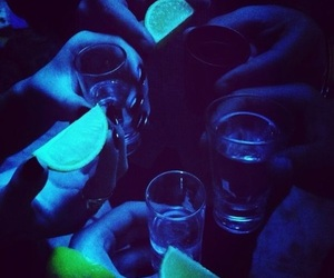 tequila, lemon, and party image