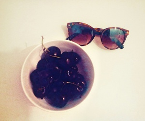 cherry, glasses, and summer fruits image