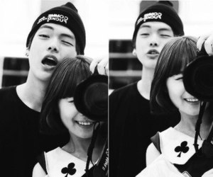 ulzzang, couple, and cute image