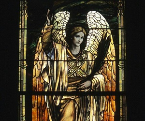 angel, art, and Christianity image