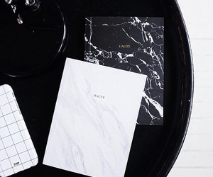 black, black and white, and black table image