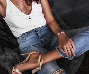 amazing, casual, and heels image