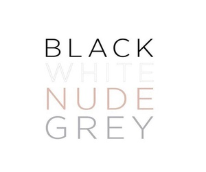 black, Nude, and grey image