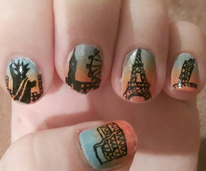 manicure, nails, and travel image