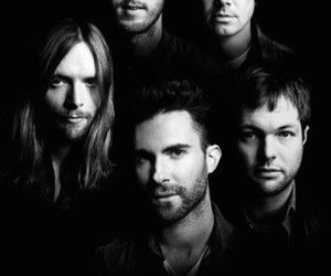 band, maroon 5, and mickey madden image