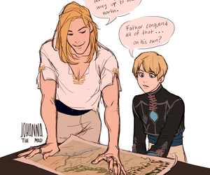 laurent, captive prince, and damen image