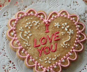 cookie, Cookies, and valentines day image