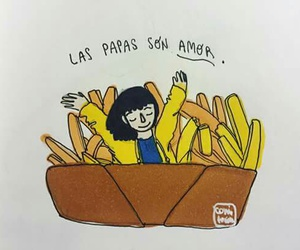 food, frases, and potatoes image