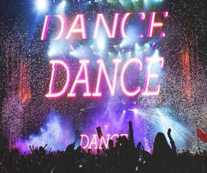 dance, music, and rave image