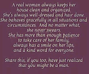 woman, funny, and man image