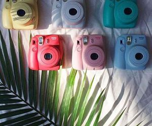 colors, polaroid, and camera image