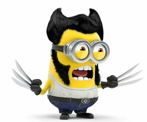minions, wolverine, and x-men image