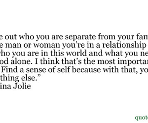 you, Angelina Jolie, and quote image