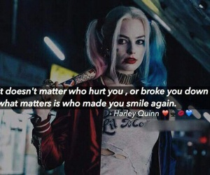 harley quinn, suicide squad, and quotes image