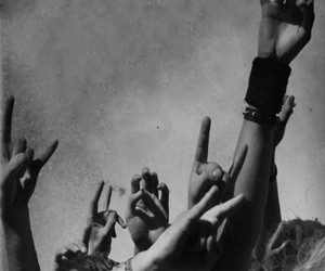 rock, music, and black and white image