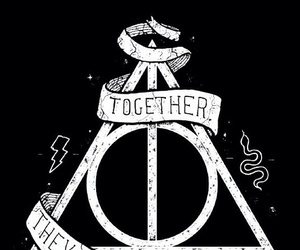 harry potter, deathly hallows, and hp image