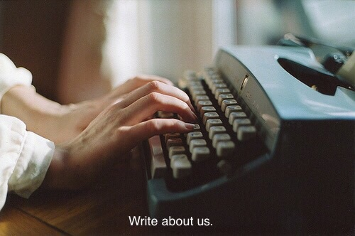 vintage, hands, and write image