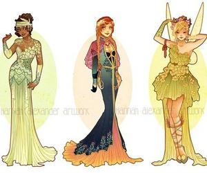 tiana, disney, and princess image